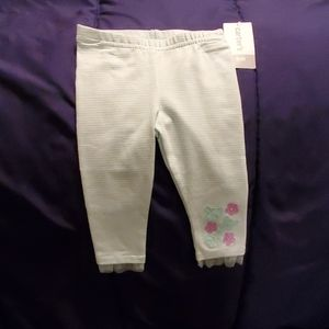 Carter's butterfly leggings size 9mths nwts